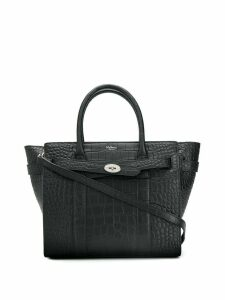 Mulberry Small Bayswater Crocodile Shoulder bag - Black