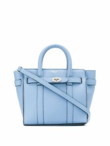 Mulberry mini Bayswater tote bag - Blue
