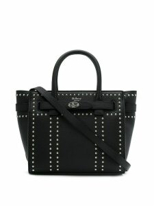 Mulberry Mini Studded Bayswater tote bag - Black