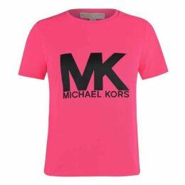 MICHAEL Michael Kors Neon Logo T Shirt