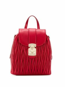 Miu Miu quilted backpack - Red