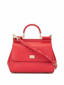 Dolce & Gabbana top handle shoulder bag - Red
