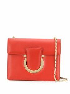 Salvatore Ferragamo Gancini shoulder bag - Red