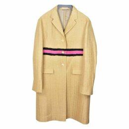 Silk coat