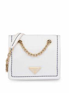 Prada chain strap shoulder bag - White