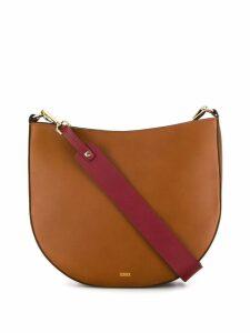 Closed Daphne shoulder bag - Brown