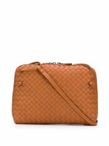 Bottega Veneta woven shoulder bag - Brown