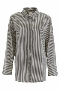 S Max Mara Here is The Cube Striped Shirt