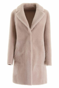 Blancha Reversible Midi Shearling Coat