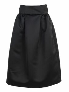 Emporio Armani Skirt Long W/satin On Waist