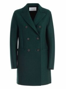 Harris Wharf London Coat Short Double Breasted