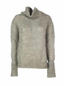 Prada Mohair Turtleneck Sweater/collo Alto