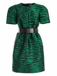 Parosh Dress S/s Flared