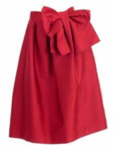 Parosh Skirt Duchesse W/knot