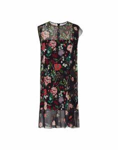 RED Valentino Flowers And Cherries Print Dress