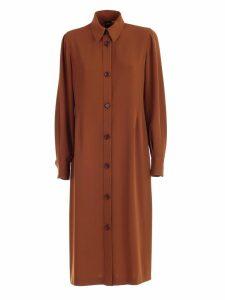 Aspesi Dress L/s Cady Chemisier