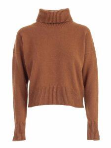 Parosh Sweater Short Turtle Neck