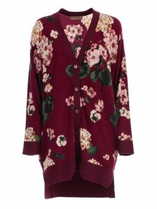 TwinSet Cardigan Long W/print