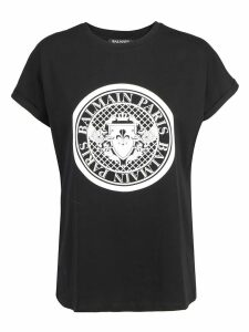 Balmain Flocked Coin T-shirt