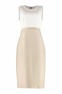 Max Mara Studio Belted Sheath Dress