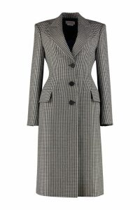 Alexander McQueen Single-breasted Wool Coat