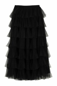 RED Valentino Flounce Tulle Skirt