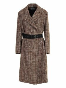 SEMICOUTURE Trench W/belt