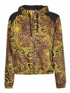 Versace Jeans Couture Twill Shine Print Hoodie