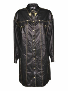 Versace Jeans Couture Belted Shirt Dress