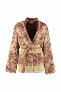 Forte Forte Jacquard Blazer With Belt