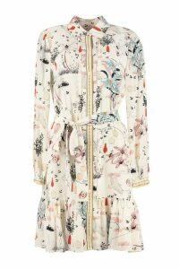 Tory Burch Cora Printed Silk Shirtdress