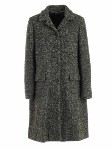Aspesi Coat Single Breasted Wool