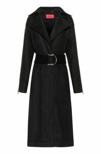Oversized-fit coat in a wool blend