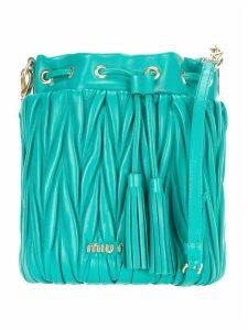 Miu Miu Matelassé Small Bucket Bag