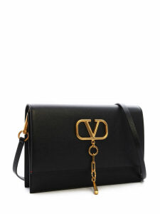 Valentino Garavani Calfskin Vcase Shoulder Bag