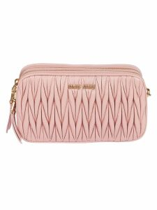 Miu Miu Quilted Shoulder Bag
