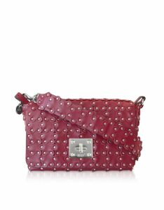 Red Valentino Flower Puzzle Twist Lock Shoulder Bag