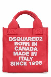 Dsquared2 Printed Leather Mini-tote