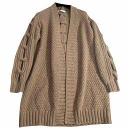 Wool cardi coat