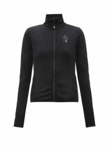 Rhode - Lena Tasselled Floral Print Cotton Wrap Dress - Womens - Green Print