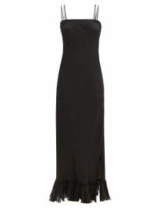 Rhode - Micah Shirred Cotton Dress - Womens - Blue