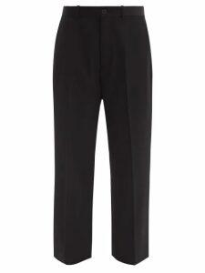 Rhode - Pia Floral Print Ruched Poplin Mini Dress - Womens - Blue Print