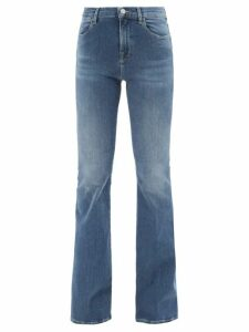 Matteau - Tiered Cotton Dress - Womens - Black