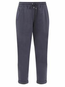 Merlette - Santa Elena Tiered Cotton Lawn Midi Dress - Womens - Burgundy