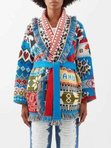 Beulah - Ridhi Floral Print Silk Top - Womens - Pink Multi