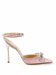 Johanna Ortiz - The Quintessence Of Calm Crepe Georgette Dress - Womens - Orange Multi