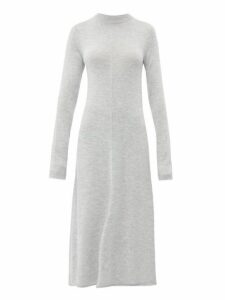 Joseph - Merino Wool Midi Dress - Womens - Grey