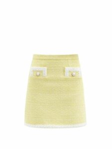 Staud - Puffball Stretch Cotton Poplin Bardot Dress - Womens - Orange