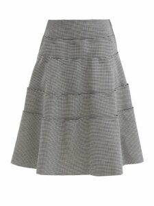 Officine Générale - Estelle Patent Leather Overcoat - Womens - Burgundy
