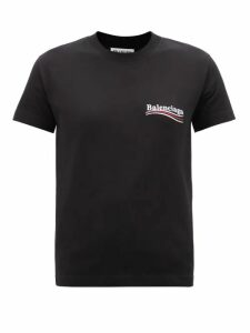 Alexander Mcqueen - Houndstooth Hourglass Wool Coat - Womens - Black White